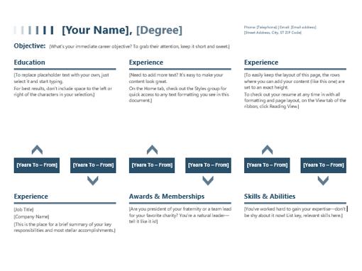 Resume (timeline)