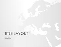 World maps series, Europe presentation (widescreen)