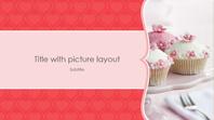 Pink hearts photo album (widescreen)