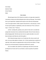 MLA style paper