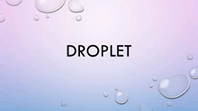 Droplet Purple