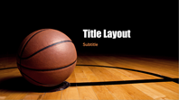 Basketball presentation (widescreen)