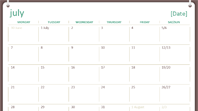 2014-2015 academic calendar (July-June)
