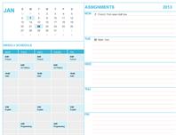 Student calendar
