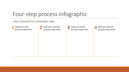 Process infographic (Retrospect theme, widescreen)