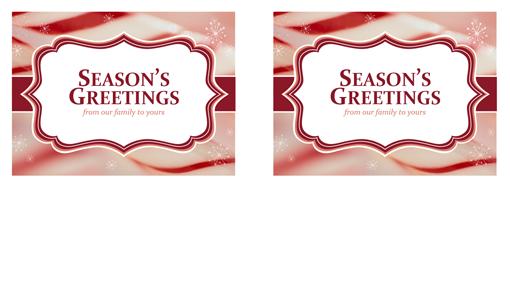 season greetings templates