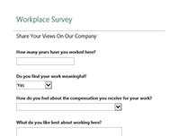 Workplace survey