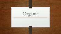Organic Dark Wood