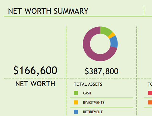 Net worth summary