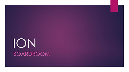 Ion Boardroom