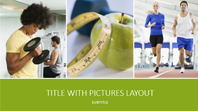 Health and fitness presentation (widescreen)