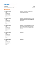 basic resume templates free online