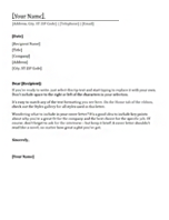 Sample Business Name Change Letters