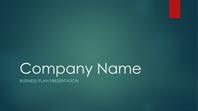 Business plan presentation (Ion green design, widescreen)