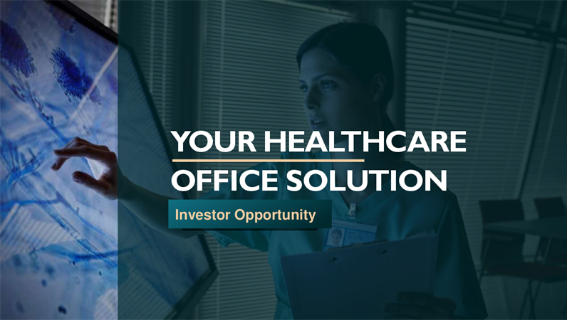 Healthcare office pitch deck