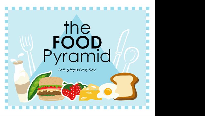 Présentation sur la pyramide alimentaire