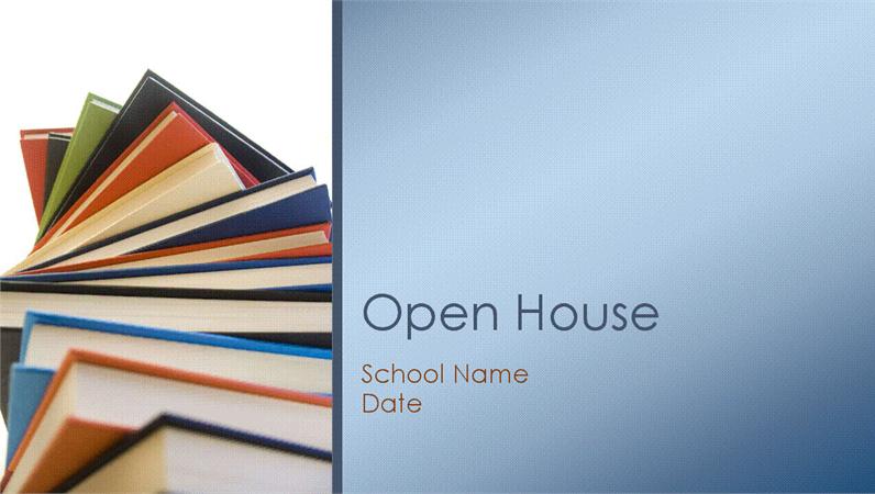 Classroom open house presentation