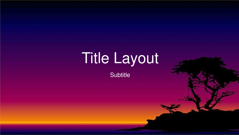 Island design slides