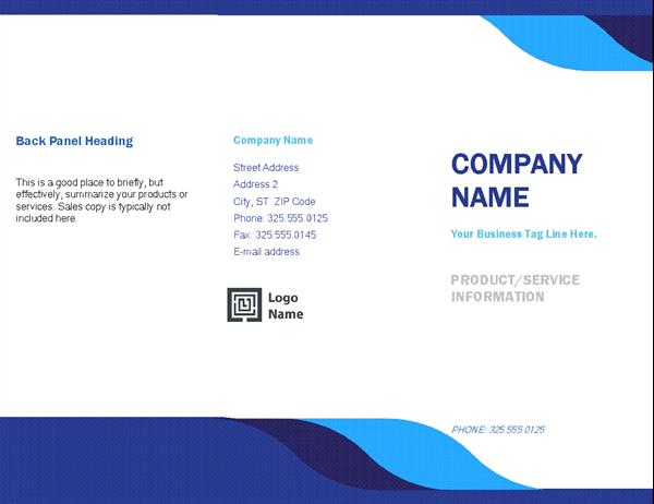Business brochure (Level design)