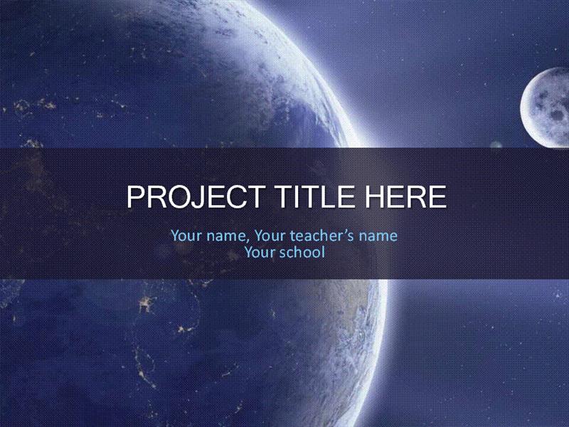 School project solar system