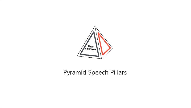 Pyramid Speech Pillars