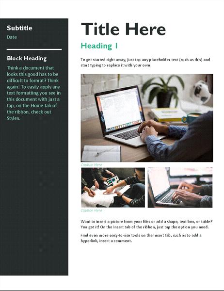 Newsletter (bold)