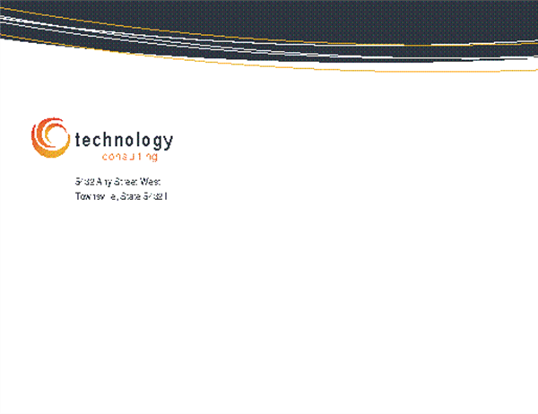 Technology business envelope