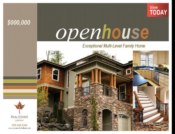 Real estate poster (horizontal)