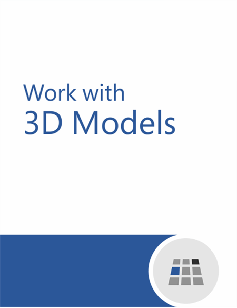 How to work with 3D models in Word