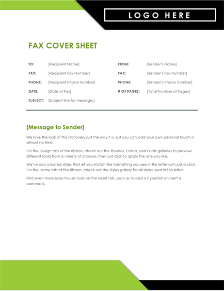 photograph about Fax Templates titled Fax Handles -