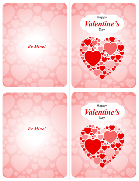 Be Mine! Valentine's Day card