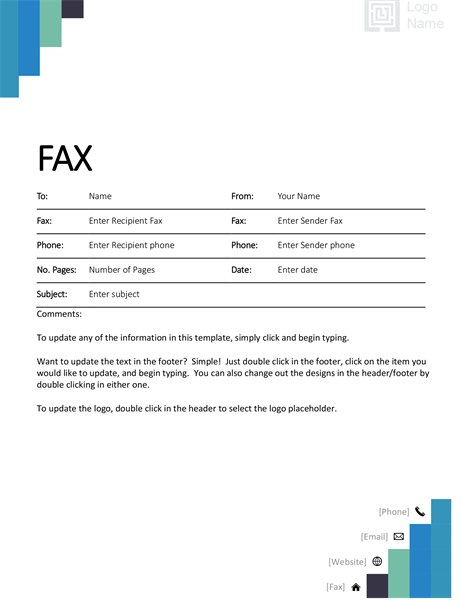 photo about Plain Fax Cover Sheet known as Fax Addresses -
