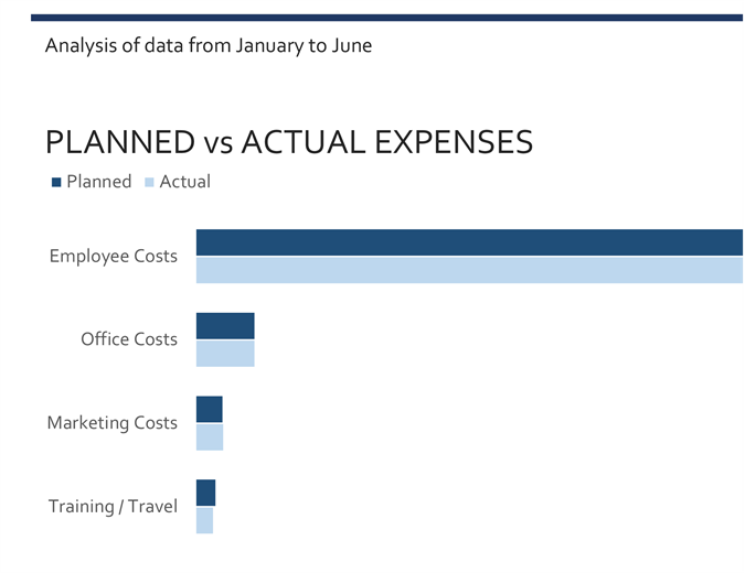 Business expenses budget