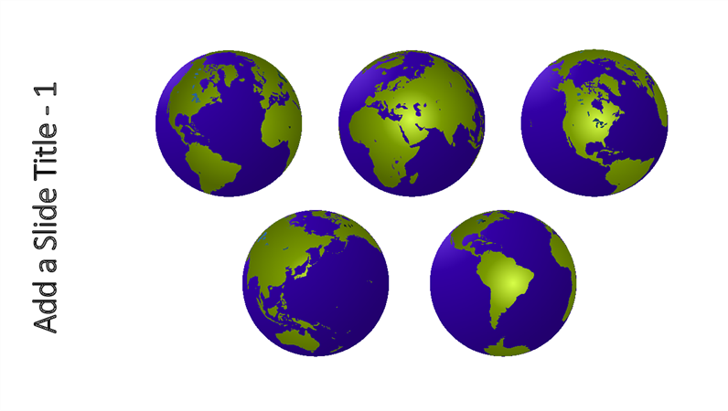 Five global views graphic
