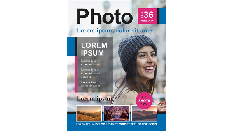 Photography magazine covers