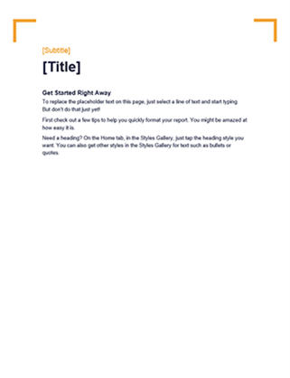 Crop design blank template