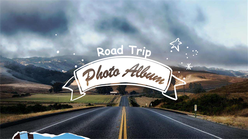 Road trip photo album