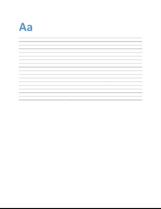 Single spaced (blank)