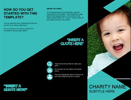 Nonprofit brochure