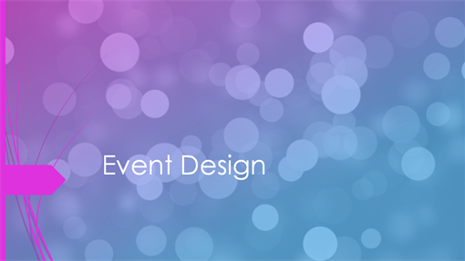 Event plan Wisp design