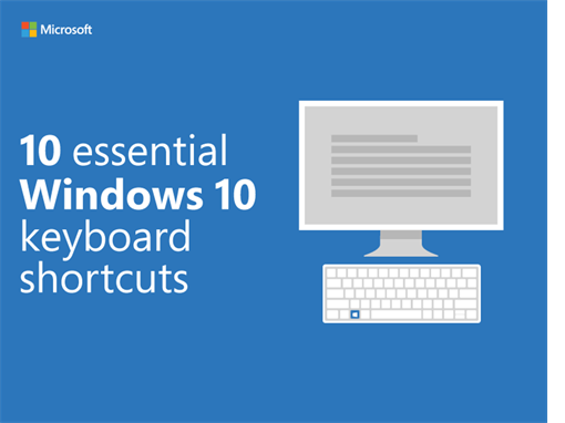 10 essential Windows 10 keyboard shortcuts