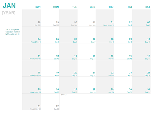excel appointment calendar