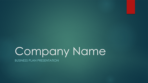 business presentation words