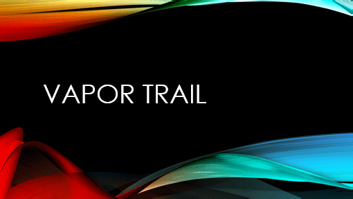 vapor trail powerpoint thevillas co