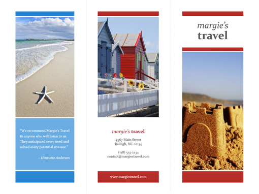travel guide brochure template - brochures