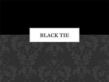 Black tie office templates toneelgroepblik