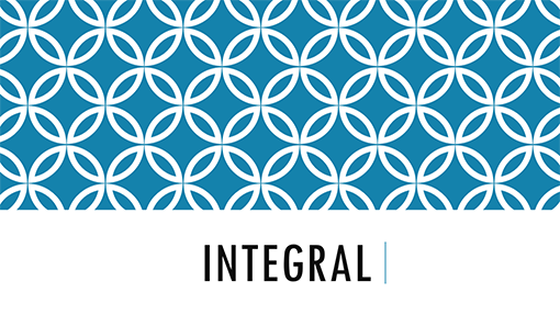 integral theme word