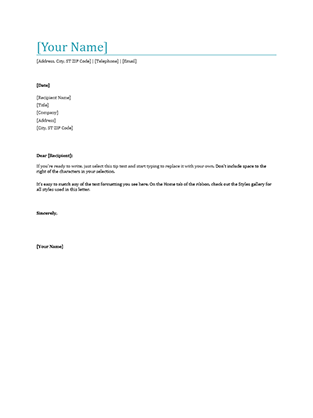 Student reference letter - Office Templates