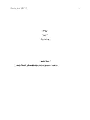 blank apa format template apa styles office templates