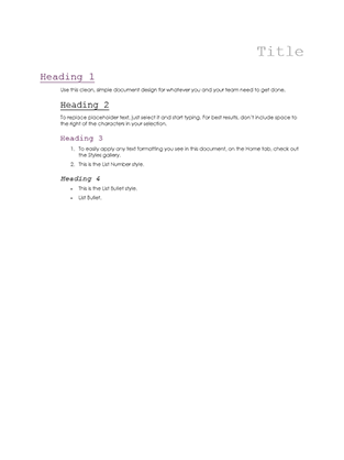 journal template word